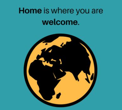 Home is where you are welcome
